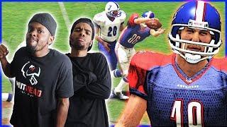 THE CRAP TALK HAS HIM HEATED! - 2K Sports All-Pro Football 2K8 | #ThrowbackThursday