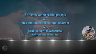 Ee kattu vannu karaoke with lyrics - Adam Joan