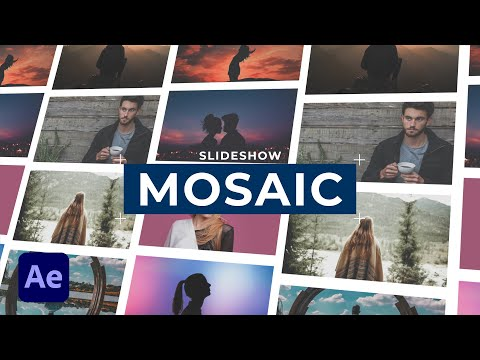 Create a Mosaic Photo Gallery Effect in After Effects