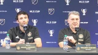 Free Kick: Atlanta United Tata Martino, Michael Parkhurst MLS Cup Pt. 3 (12.6.18) #sportsinqurier