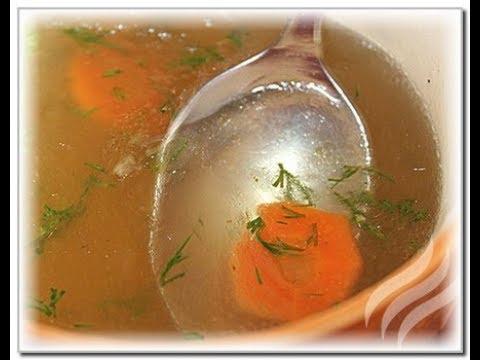 Курсовая приготовление прозрачных супов