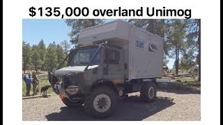 $135,000 Overland Unimog by Bliss Mobil :Overland Expo 2017