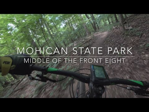 Mohican State Park Mountain Bike Trail: Middle of the Front Eight