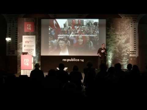 re:publica 2014 - Elmar Geese: Heroes on YouTube