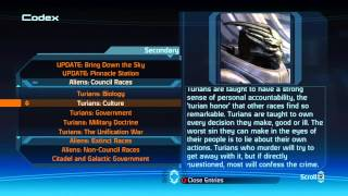 Xbox 360 Longplay [035] Mass Effect 1 (part 17 of 17) Codex