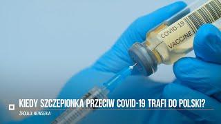 Koronawirus w Polsce. Szczepionki przeciw COVID-19 trafią do Polski na początku 2021 roku