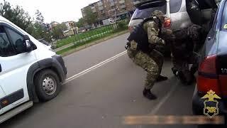Жесткое задержание крупной ОПГ прошло в Арсеньеве силами группы спецназа \
