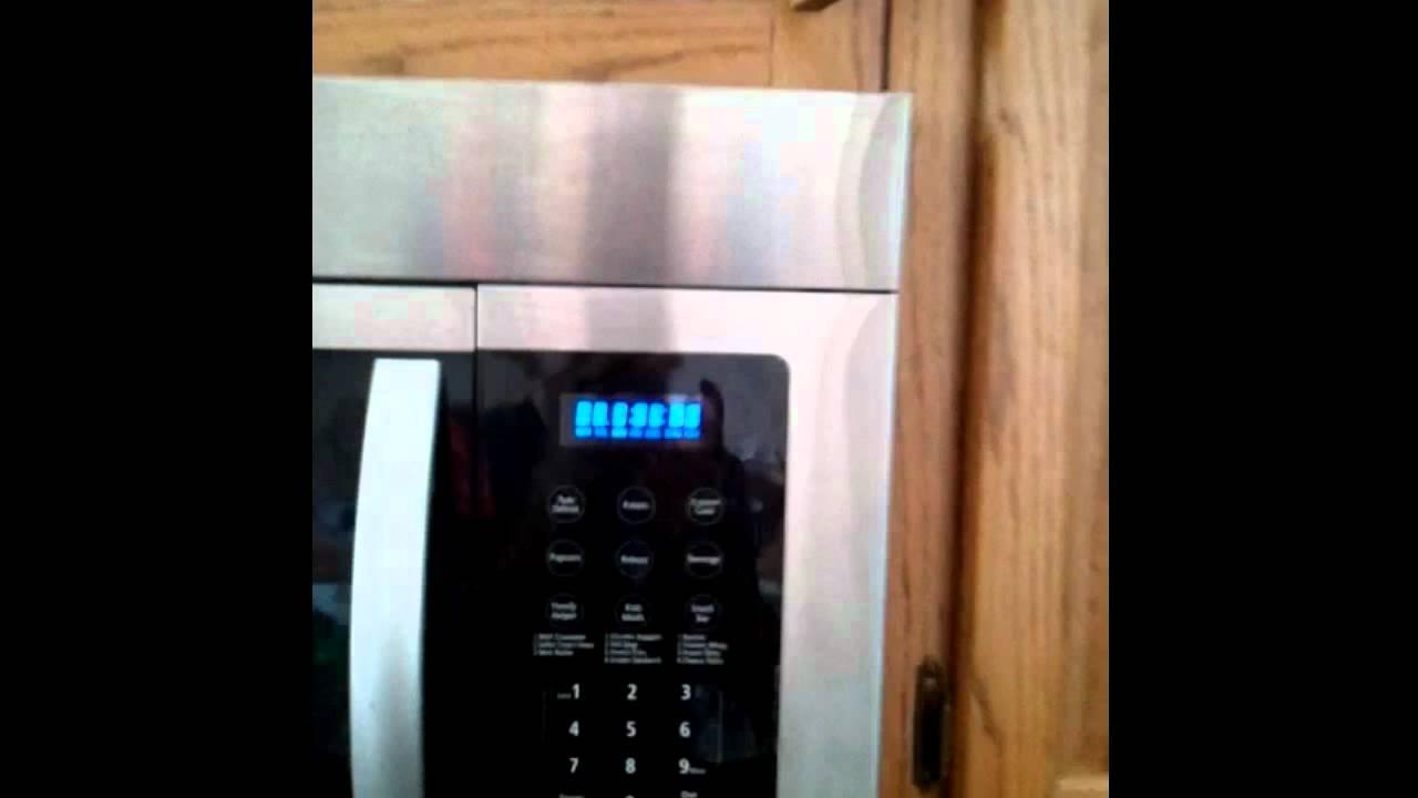 Samsung Microwave Se Error Youtube