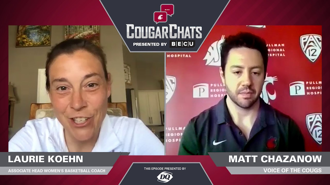 Image for WSU Athletics: Cougar Chats with Coach Laurie Koehn webinar