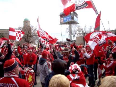 Toronto FC Red Patch Boys - We Love You Chant
