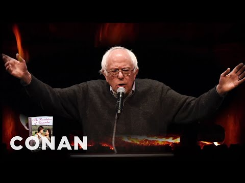 Bernie Sanders Reads From His Grammy-Nominated Romance Novel  - CONAN on TBS