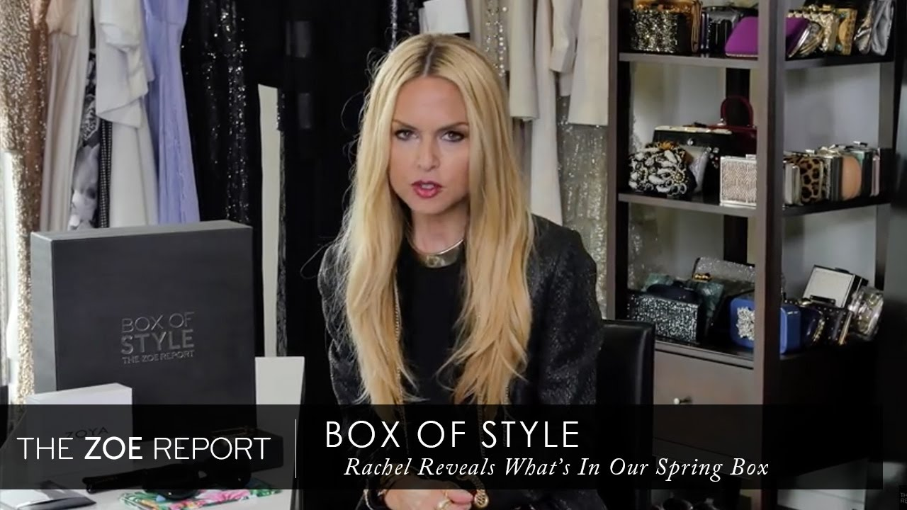 Rachel zoe reveals box of style 5 items you need this The zoe report