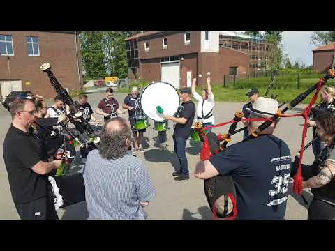 The Owl Town Pipe & Drum Band - Finale Band-Workshop 2018