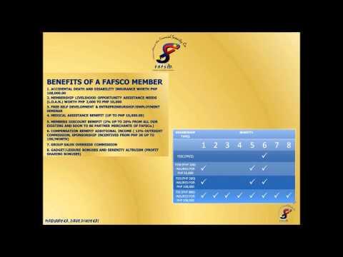 FAFSCO Lifestyle Easy Membership Guide