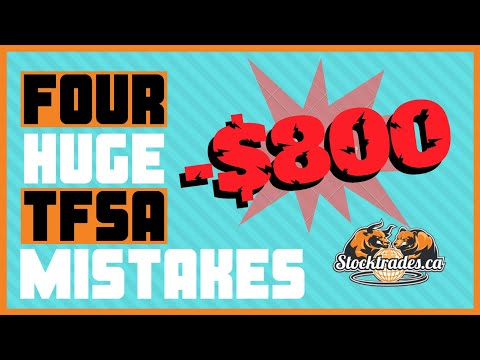 4 HUGE Beginner Mistakes To Avoid In Your Tax Free Savings Account | TFSA Investing 2020