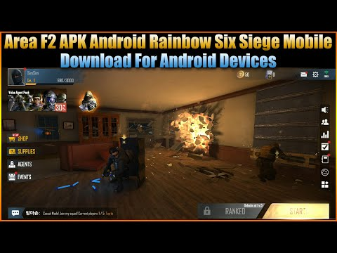 Area F2 APK Android Rainbow Six Siege Mobile Download For Android Devices