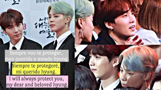 Yoonmin (Análise|Análisis|Analysis) I will always protect you, my dear and beloved hyung [PT/ESP/ENG