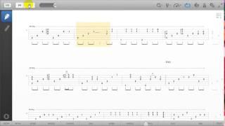 Guitar pro tab - Dấu Mưa Solo