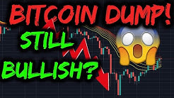 BITCOIN DUMP! Still Bullish? Satoshi Moving Coins?! (Cryptocurrency News + Trading Price Analysis)
