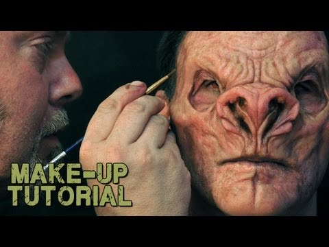 Vampire / Demon Prosthetic Make-Up & Painting Guide