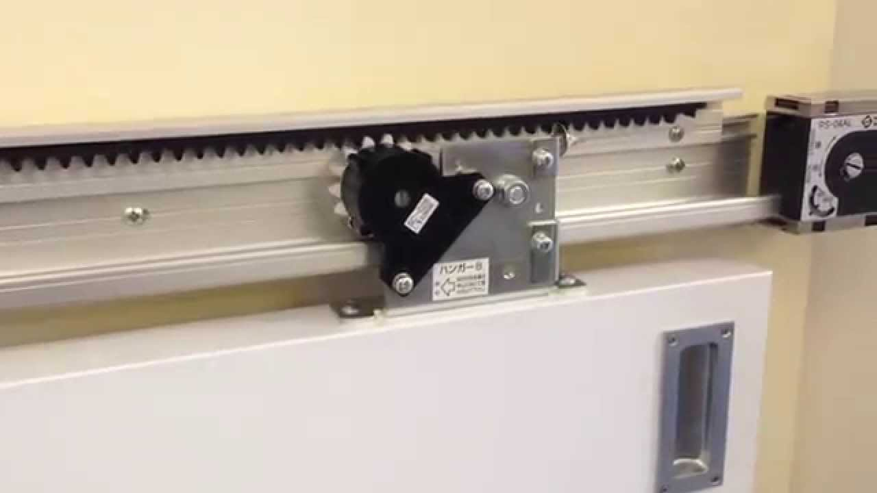 DENSC C48   Self Closing Sliding Door With 20 Second Delayed Close Timer    YouTube