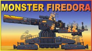 Iron Monster Firedora All episodes - Cartoons about tanks