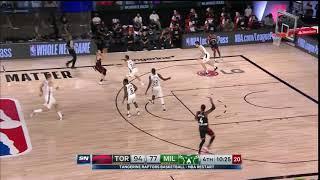 Raptors Highlights: Matt Thomas PU3IT - August 10, 2020