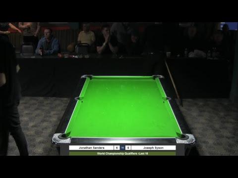 2018 World Championship Qualifiers  Jonathan Sanders v Joseph Syson