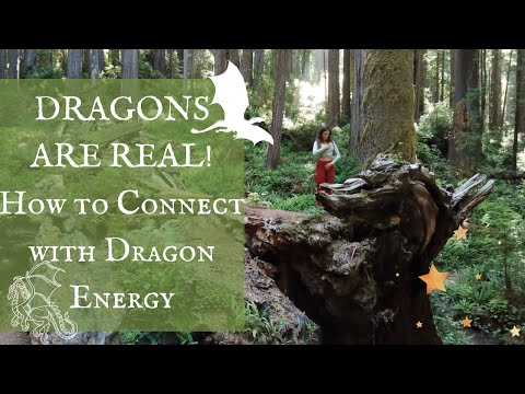 DRAGONS ARE REAL! Powerful 5D Energy, Awaken Your Magic. Imagine & Connect to The Elemental Realm!