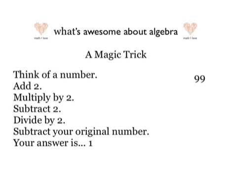 Math Magic Trick | Math for Love