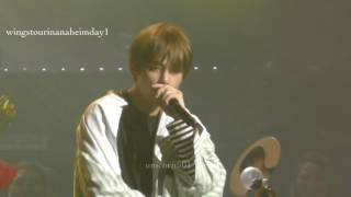 Video 170401 BTS Anaheim day1 Outro:Wings taehyung V  focus download MP3, 3GP, MP4, WEBM, AVI, FLV November 2017