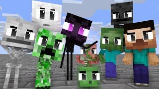 Monster School : Season 11 All Episodes - minecraft animation