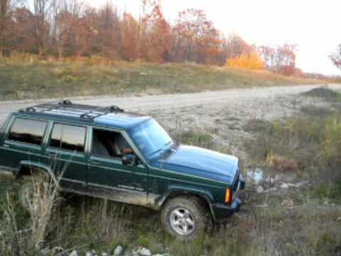 Jeep Cherokee On 31s And 3 Inch Lift