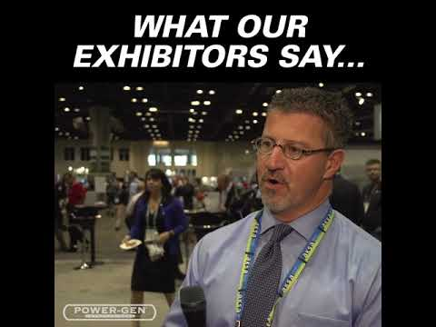 #POWERGEN Exhibition Testimonial 1