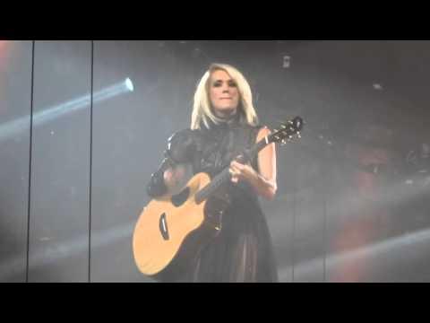 Carrie Underwood - Smoke Break 1-30-16 Storyteller Tour Jacksonville, FL