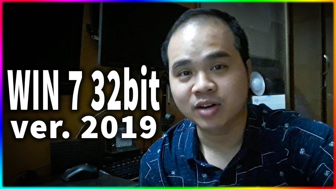Tạo USB và cài Win 7 32bit mới nhất 2019