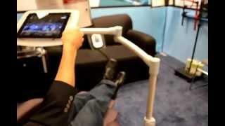 Ces 2013 Levo Ipad Adjustable Floor Stand