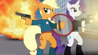 Repeat youtube video Avengers Re-enacted by Ponies