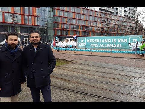 DENK aanwezig op demonstratie Wilders