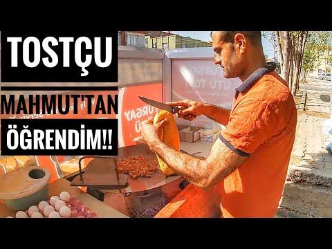 TOSTÇU MAHMUT TAN ÖĞRENDİM DEDİ !! Ütü Tost / Adana Sokak Lezzetleri