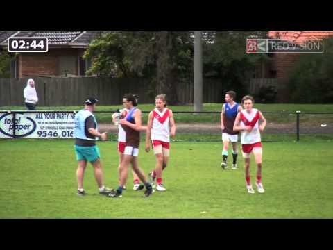 SMJFL 2014 U16 DIV 2 - South Melbourne v Ormond Brown