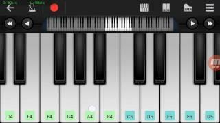 Not Piano - Zivilia Pintu Taubat ( Walk Band Tutorial ) Tutorial Piano