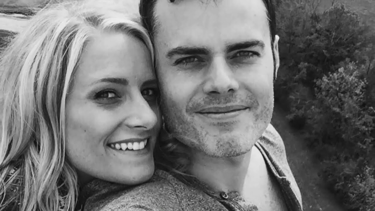 Marc Martel with sweet, Wife Crystal Koster Martel