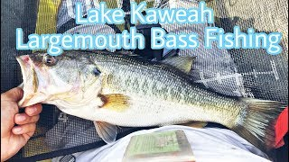 Lake Kaweah Largemouth Bass Fishing 2018 - w/ (Mystery Tackle Box August Unboxing)