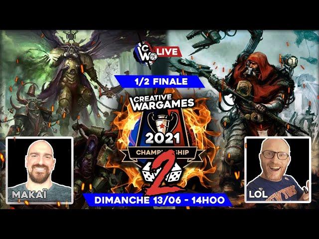 CW Championship 2 - demi finale Death guard VS Cult Mechanicus