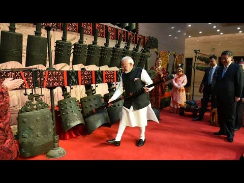 Modi - Xi visit Hubei provincial museum and hold bilateral informal meeting