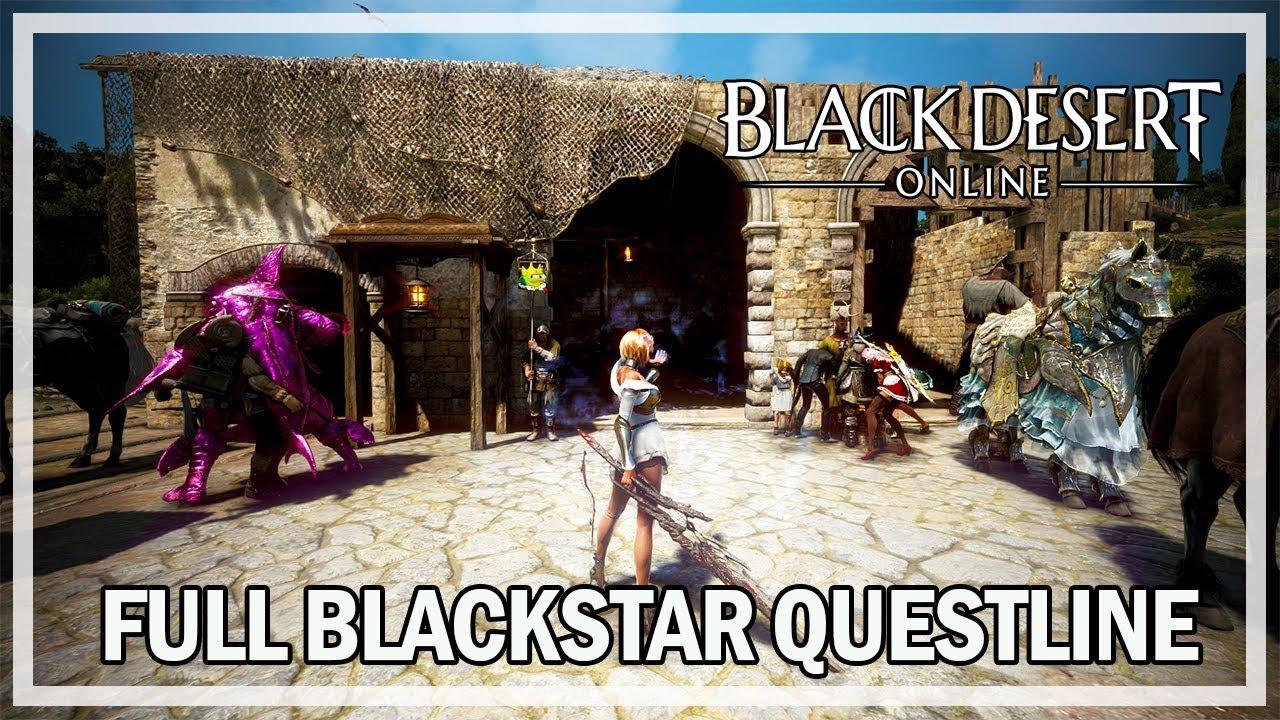 Black Desert Online - Full Blackstar Weapon Questline - Dark Knight