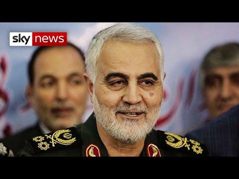 US Drone Strike Kills Top Iranian General