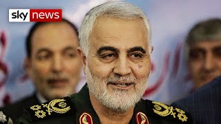 US drone strike kills top Iranian general