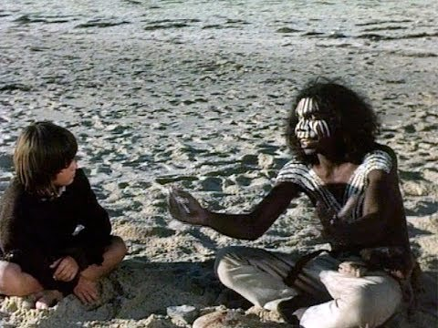 David Gulpilil dancing in Storm Boy